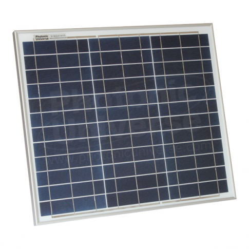 30W polycrystalline solar panel with 5m cable