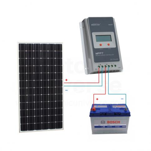 12v Solar Panels Charging Kits For Caravans Motorhomes