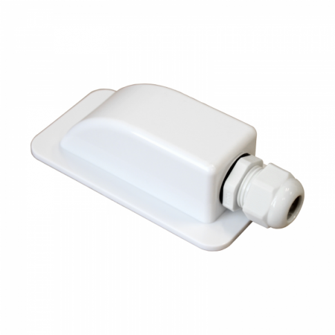 Waterproof single cable entry gland (3-7mm) for motorhomes, caravans, campervans, boats and building installations