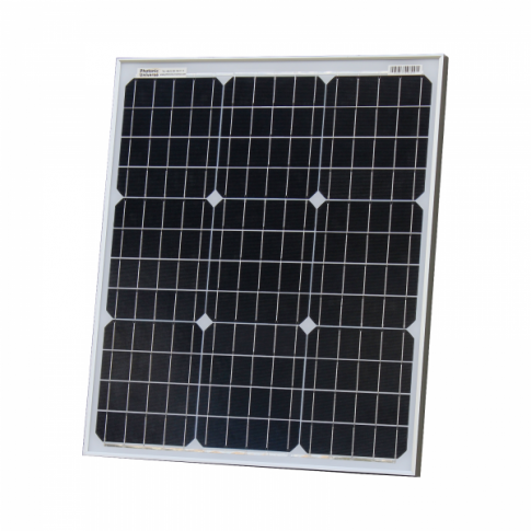 50W 12V solar panel with 5m cable (German solar cells)