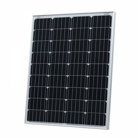 100W 12V solar panel with 5m cable for camper / caravan / boat, made of high quality German solar cells