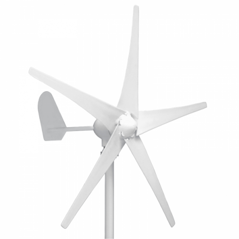 400W 12V wind turbine with 5 blades