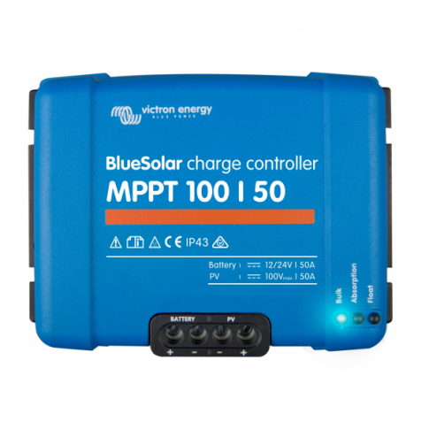 Victron BlueSolar MPPT 100/50 50A solar charge controller for solar panels up to 700W (12V) / 1400W (24V) up to 100V