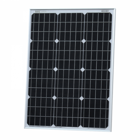 60W 12V solar panel with 5m cable (German solar cells)