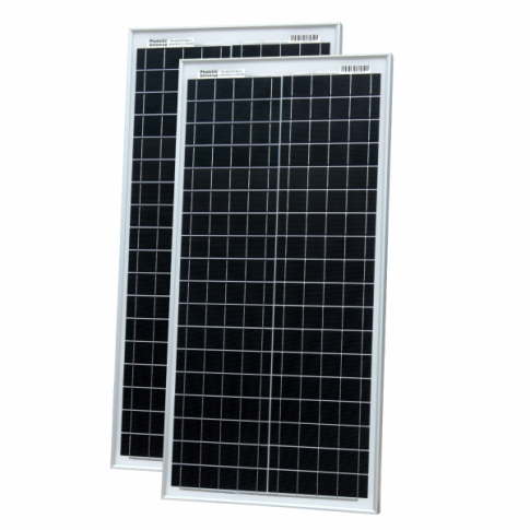 80W (40W+40W) solar panels with 2 x 5m cable (German solar cells)