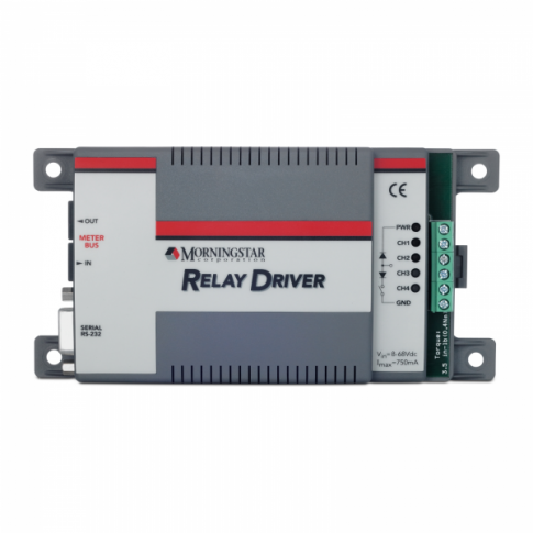 Morningstar Relay Driver RD-1 for multi-channel voltage and parameter control functions
