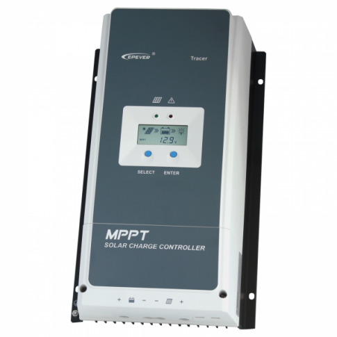 High efficiency 80A MPPT solar charge controller for solar panels up to 1000W (12V) / 2000W (24V) / 3000W (36V) / 4000W (48V) up to 150V