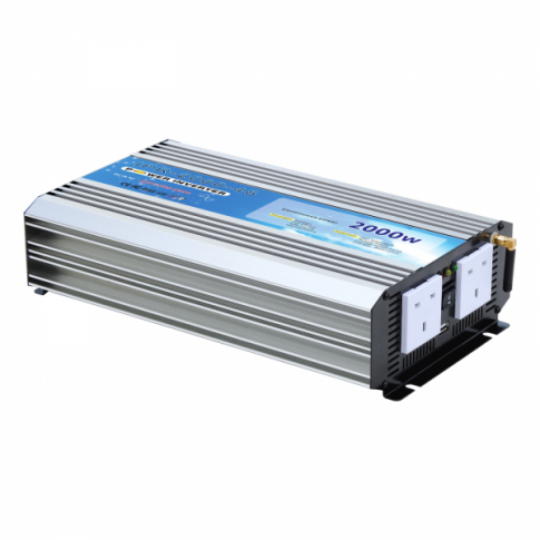 2000W 48V pure sine wave power inverter with On/Off remote control