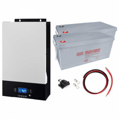 3kW Zero-Transfer Uninterrupted Power Supply (UPS) System with 4.8kWh energy storage