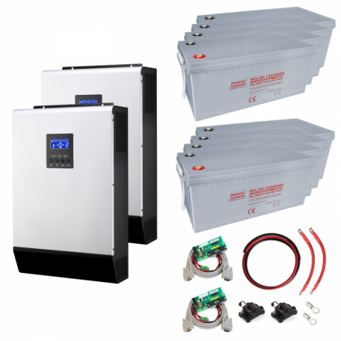 8kW Uninterrupted Power Supply (UPS) System with 19.2kWh energy storage