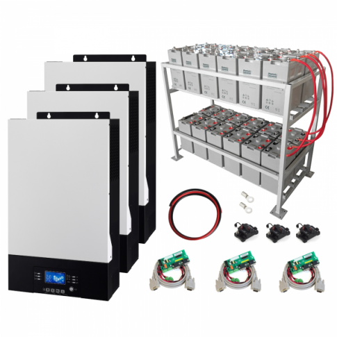15kW Zero-Transfer Uninterrupted Power Supply (UPS) System with 24kWh energy storage