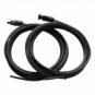Pair of 5m single core extension cable leads 2.5mm for solar panels and solar charging kits