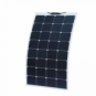80W flexible solar panel made of back-contact cells with durable ETFE coating, for motorhome, caravan, camper, rv, boat