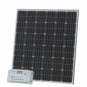 200W 12V solar charging kit with 20A controller and cable (German solar cells) for camper / caravan / boat