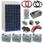 Large Off-Grid Household Solar Power System