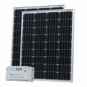 200W (100W+100W) solar charging kit with 20A controller and 2 x 5m cables (German solar cells)