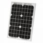 10W monocrystalline solar panel (trickle charger)