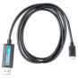 Victron VE.Direct to USB Interface Cable - for monitoring a Victron MPPT solar charge controller / compatible device via PC software