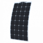 110W Semi-flexible solar panel made of back-contact cells with durable ETFE coating, for motorhome, caravan, camper, rv, boat