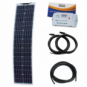 80W 12V Reinforced narrow semi-flexible solar charging kit