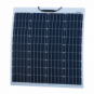 80W Reinforced semi-flexible solar panel with a durable ETFE coating (German solar cells)