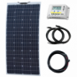 160W 12V Reinforced Semi-flexible solar charging kit