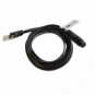 RS485 to RJ45 cable to connect a waterproof solar charge controller to a remote display/Wi-Fi module