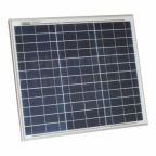 30W polycrystalline solar panel with 5m cable for motorhome, caravan or boat