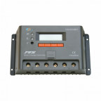 45A solar panel charge controller / regulator with LCD display and advanced programmable features for 12/24V battery systems