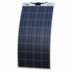 130W semi-flexible solar panel for motorhome, caravan, boat with self adhesive backing (made in Austria)
