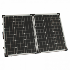 100W 12V/24V folding solar panel (without a solar charge controller) for camper, caravan, boat or any other 12V/24V system - German solar cells