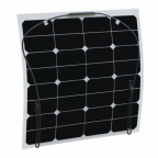 50W Semi-flexible solar panel with durable ETFE coating (Back-contact solar cells)