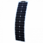 50W Semi-flexible Narrow Solar Panel with durable ETFE coating (Back-contact solar cells)