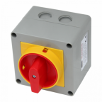 Santon 25A 440V AC isolator switch for inverters (2-pole, single phase, lockable)