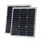 100W (50W+50W) solar panels with 2 x 5m cable (German solar cells)