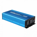 3000W 12V pure sine wave power inverter 230V AC output (UK sockets), with remote on/off switch