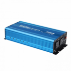 3000W 24V pure sine wave power inverter 230V AC output (UK sockets), with remote on/off switch