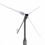 2000W 48V wind turbine with 3 blades and tail furling mechanism