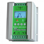 12V Hybrid 400W wind + 200W solar controller with LCD display and dump load
