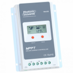High efficiency 20A MPPT solar charge controller for solar panels up to 260W (12V) / 520W (24V) up to 100V