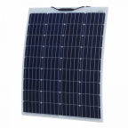 100W Reinforced semi-flexible solar panel with a durable ETFE coating (German solar cells)