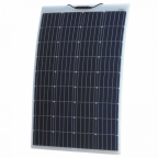 120W Reinforced semi-flexible solar panel with a durable ETFE coating (German solar cells)