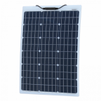 60W Reinforced semi-flexible solar panel with a durable ETFE coating (German solar cells)
