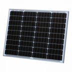 50W monocrystalline solar panel with 5m cable