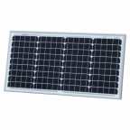 30W monocrystalline solar panel with 3m dual core solar cable