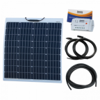 80W 12V Reinforced Semi-flexible solar charging kit