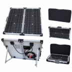 60W 12V folding solar charging kit for motorhome, caravan, boat or any other 12V system - German solar cells