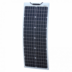 50W Reinforced narrow semi-flexible solar panel with a durable ETFE coating (German solar cells)