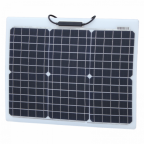 30W Reinforced semi-flexible solar panel with a durable ETFE coating (German solar cells)