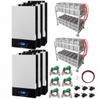 30kW Zero-Transfer Uninterrupted Power Supply (UPS) System with 48kWh energy storage